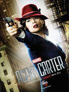 Agent Carter 2 Stunden Premiere Promoposter