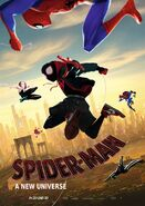 Spider-Man - A New Universe Poster