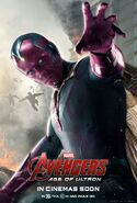 Avengers Age of Ultron deutsches Charakterposter Vision
