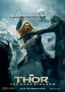 Charakterposter Volstagg Thor - The Dark Kingdom