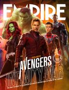 Avengers - Infinity War Empire Cover 2