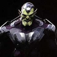 Captain Marvel Konzeptzeichnung 2