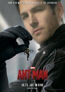 Ant-Man deutsches Charakterposter Scott Lang.