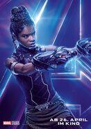 Avengers - Infinity War - Deutsches Shuri Poster