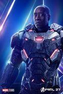 Avengers - Infinity War - War Machine Poster