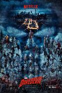 Marvel's Daredevil deutsches Staffel 2 Poster