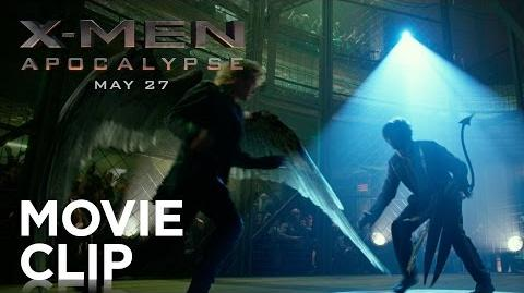 "X-Men Apocalypse ""Cage Fight"" Clip HD 20th Century FOX"