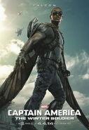 Captain America - The Winter Solider Falcon Charakterposter