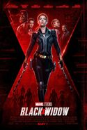 Black Widow Kinoposter