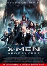 X-Men - Apocalypse deutsches Kinoposter 2
