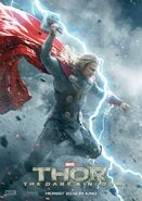 Charakterposter Thor Thor - The Dark Kingdom