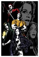 The Defenders Staffel 1 Comicposter