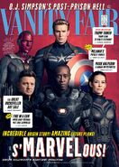 Avengers - Infinity War Vanity Fair Cover 2