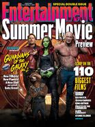 Guardians of the Galaxy Vol. 2 Entertainment Weekly Cover