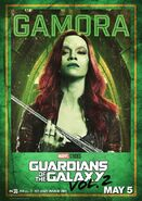 Guardians of the Galaxy Vol.2 Charakterposter Gamora