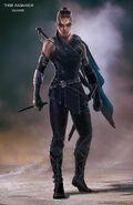 Thor Ragnarok Konzeptzeichnung 118