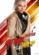 Ant-Man and the Wasp deutsches Charakterposter Janet van Dyne