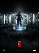 Iron Man 3 Zweites Teaserposter