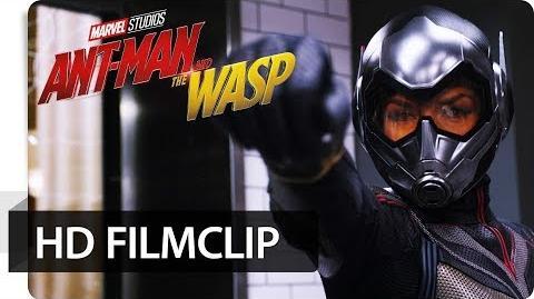 ANT-MAN AND THE WASP - HD Filmclip Mit Flügel und Kanonen Marvel HD