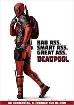 Deadpool zweites deutsches Kinoposter