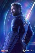 Avengers - Infinity War - Captain America Poster
