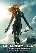 Captain America - The Winter Solider Black Widow Charakterposter