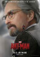 Ant-Man deutsches Charakterposter Hank Pym