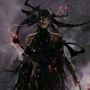 Thor Ragnarok Konzeptzeichnung 128