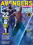 Avengers - Infinity War Entertainment Weekly Cover 10