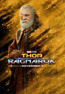 Thor Ragnrok Charakterposter Odin