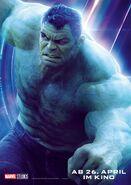 Avengers - Infinity War - Deutsches Hulk Poster