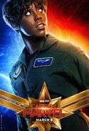 Captain Marvel Charakterposter Maria Rambeau