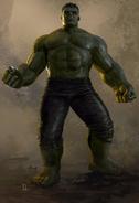 Thor Ragnarok Konzeptzeichnung 43