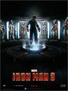 Iron Man 3 Zweites deutsches Teaserposter