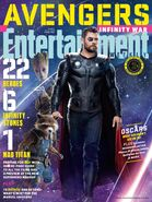 Avengers - Infinity War Entertainment Weekly Cover 13