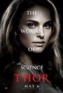 Thor Charakterposter Jane Foster