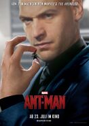 Ant-Man deutsches Charakterposter Darren Cross