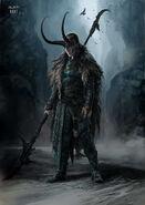 Thor Ragnarok Konzeptzeichnung 85