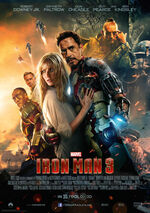 Iron Man 3 deutsches Kinoposter