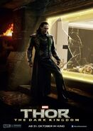Charakterposter Loki Thor - The Dark Kingdom