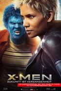 X-Men Zukunft ist Vergangenheit Beast & Storm Poster