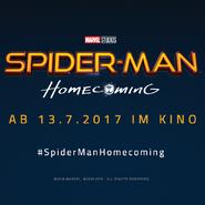 Spider- Man Homecoming Deutsches Brazil Comic Con Logo