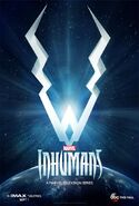 Marvel's Inhumans Staffel 1 Teaserposter