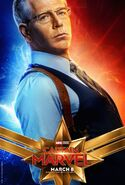 Captain Marvel Charakterposter Talos