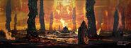 Thor Ragnarok Konzeptzeichnung 16