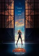Captain Marvel deutsches Teaserposter