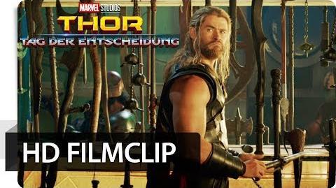THOR TAG DER ENTSCHEIDUNG - Filmclip Ich vermisse meinen Hammer Marvel HD