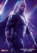 Avengers - Infinity War - Deutsches Falcon Poster