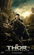 Charakterposter 2 Loki - Thor The Dark World