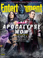 Entertainment Weekly Cover X-Men Apokalypse